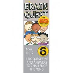 Brain Quest Gr 6