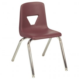 "16"" Plastic Stack Chair - 2000 Series"