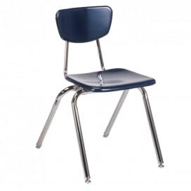 Solid Plastic School Chair - 3000 Series