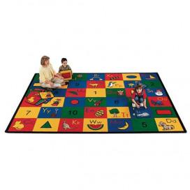 Blocks of Fun Classroom Rug | Educational Rugs | ABC Rugs