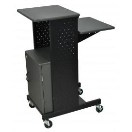 Steel-Framed Presentation Cart - with Cabinet