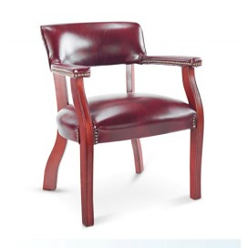 Alera Guest Arm Chair w/ Casters | Reception Chairs | Reception Chair
