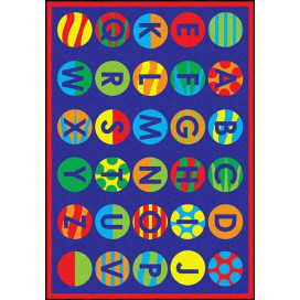 Patterns Classroom Rug   ABC Rugs   Carpets for Kids