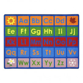 Any Day Alphabet Organizational Rug | Preschool Rugs | ABC Rugs | Joy Carpets