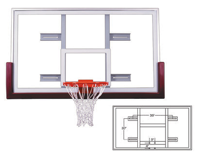 Basketball Hoops and Backboards