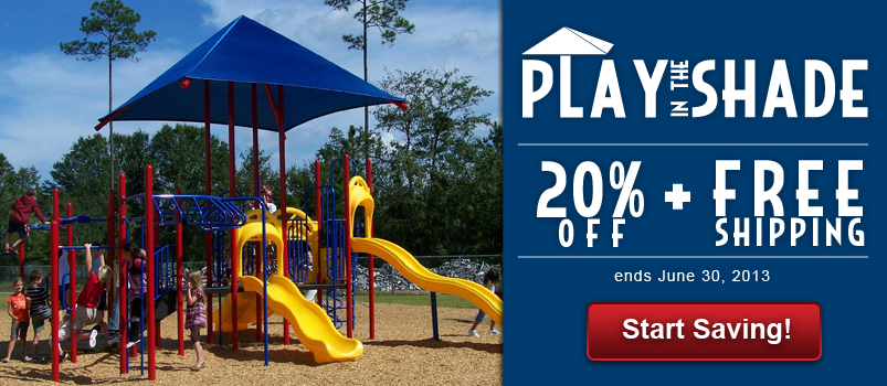 Play in the Shade: 20% + Free Shipping