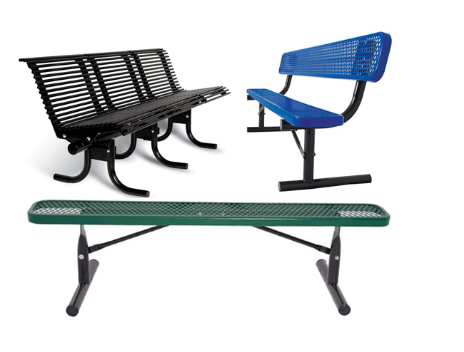Thermoplastic Benches