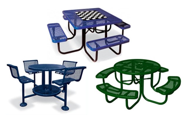 Thermoplastic  Picnic Tables