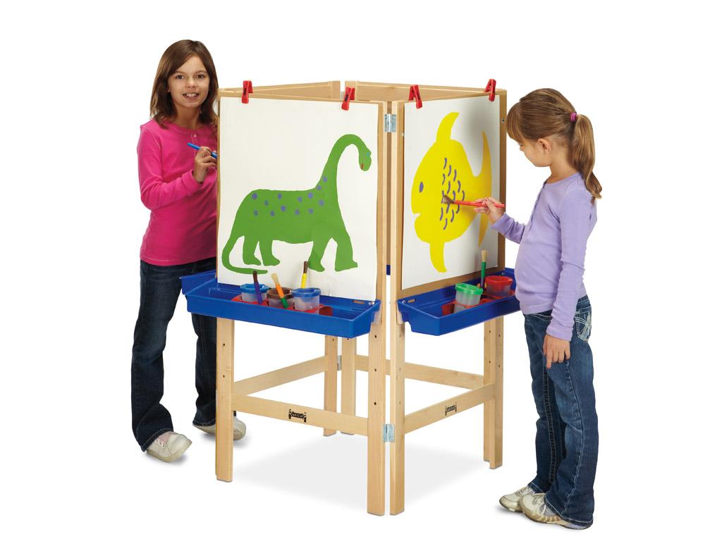 4 Way Adjustable Art Easel Art Easels Kids Easels
