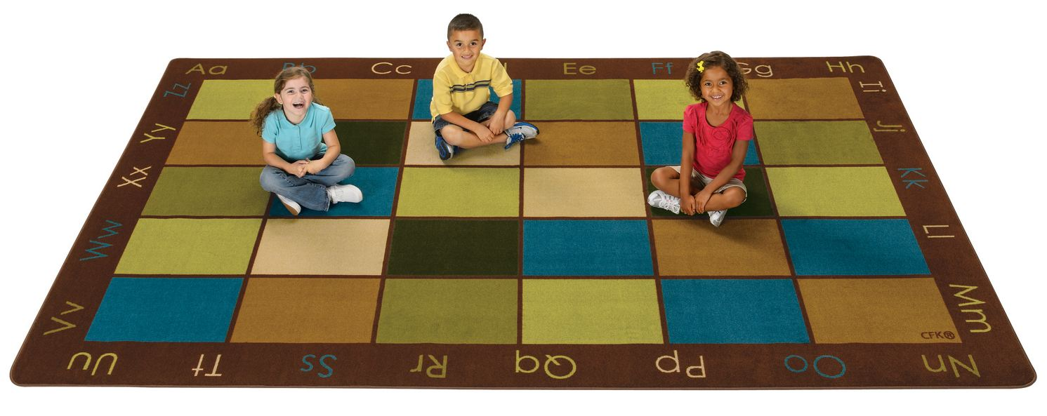 Nature S Colors Clroom Seating Rug Natural Rugs Earth Tone