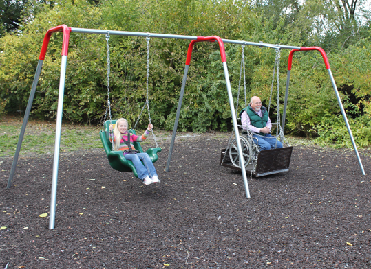 2 Bay ADA Swing Set