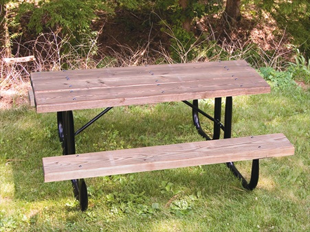 Economy Wood Picnic Table