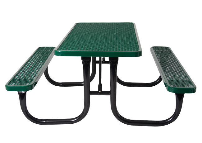 BYO Series Diamond Picnic Table - 6' or 8'