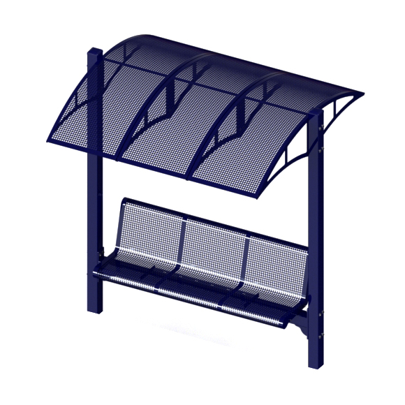 Single Bench Rendering