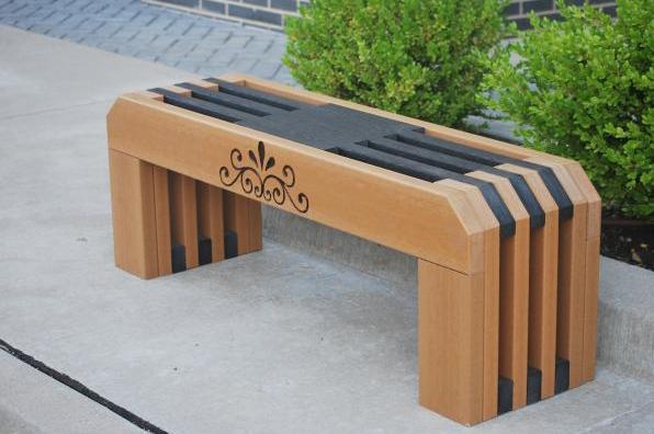 Backless Elegance Bench