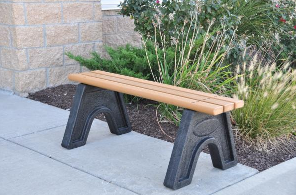 The Commons Bench - Cedar