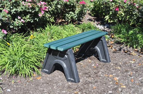 The Commons Bench - Green