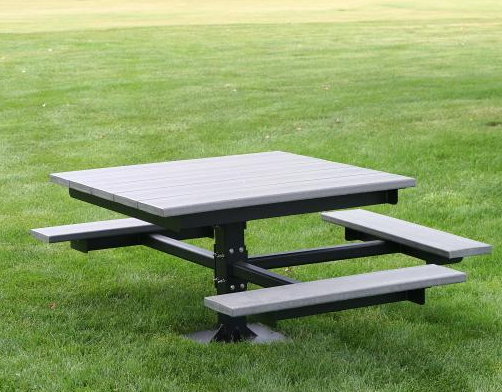 ADA Recycled Square Picnic Table
