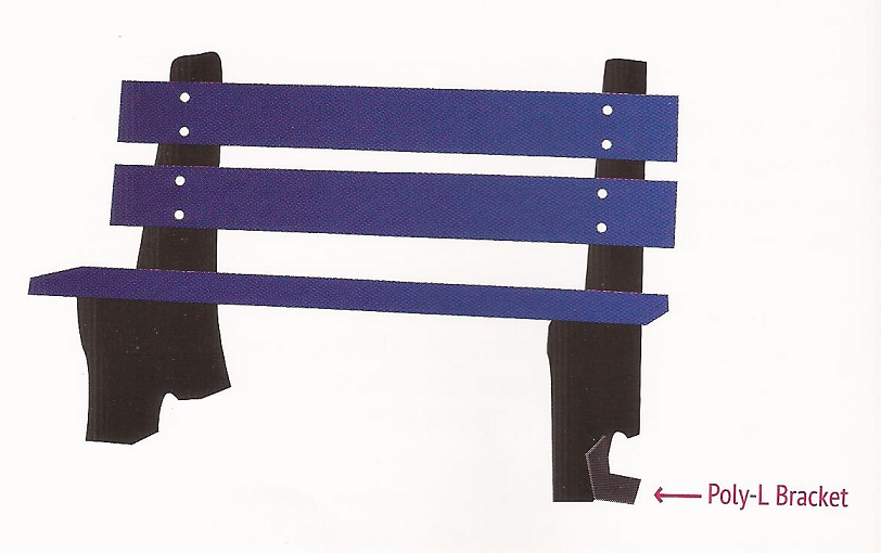 Recycled Plastic Picnic Tables Recycled Tables - Metal picnic table brackets