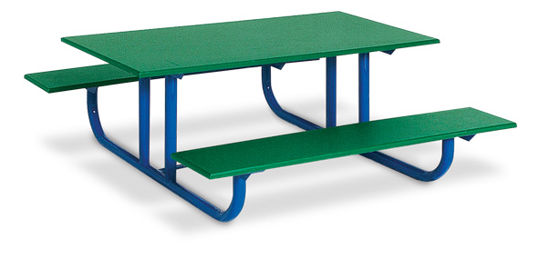 4u0027 Heavy Duty Preschool Picnic Table