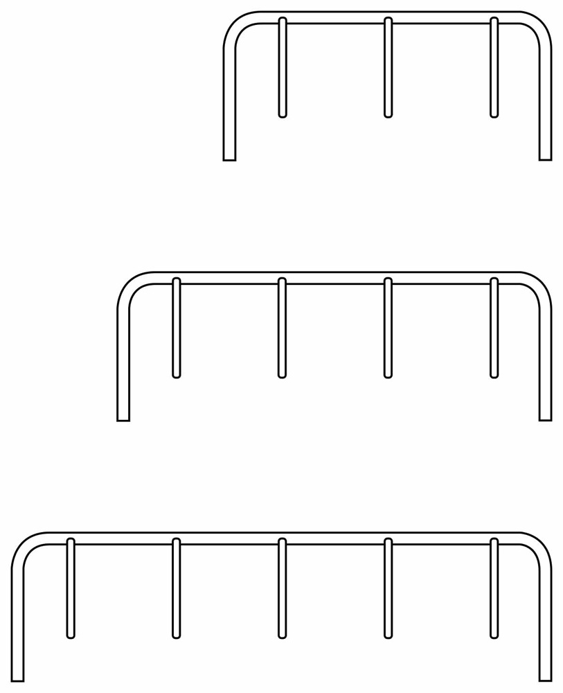 Hanger Bike Rack 2