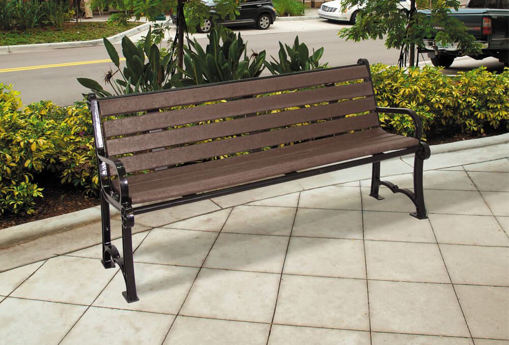 Charleston Recycled Bench 2