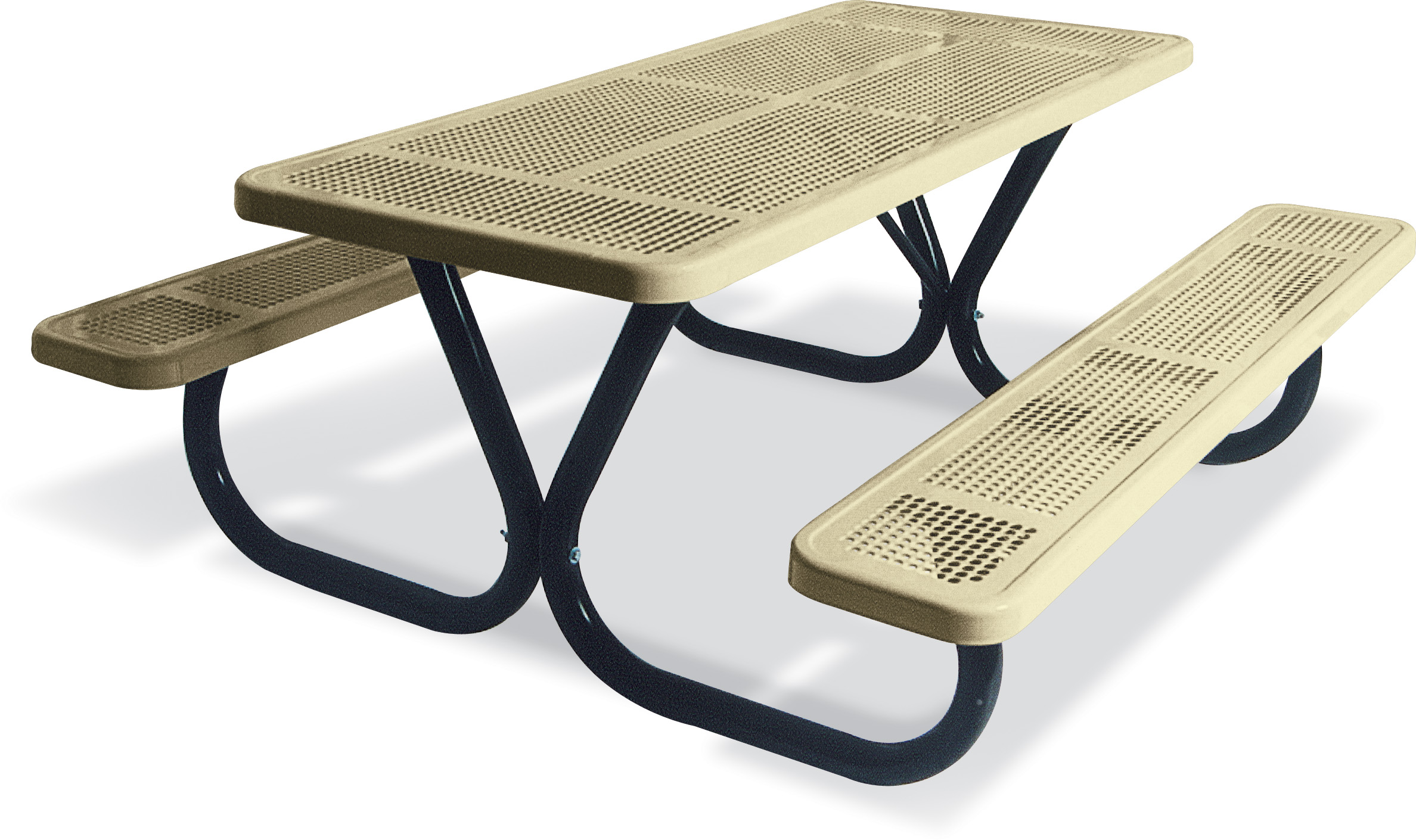 Extra Heavy-Duty Bolt-Thru Picnic Table