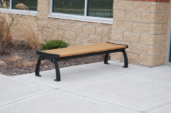 Recycled Park Benches - Without Back