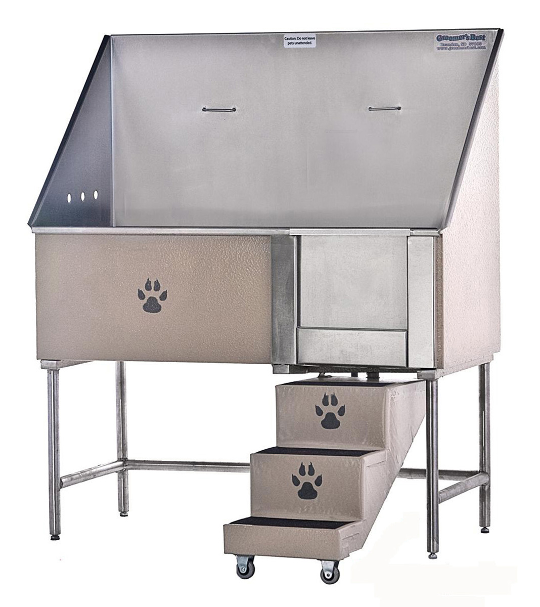 Walk-In Wash Station, Stainless Steel