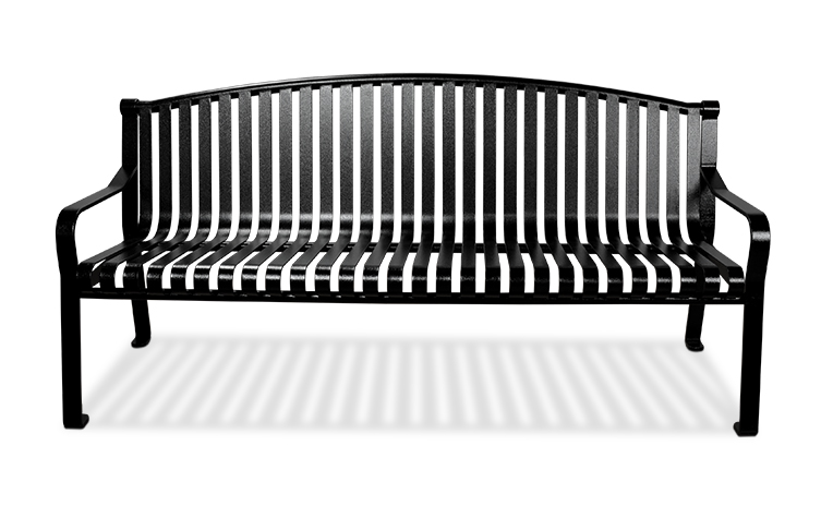 Main Image Curved Back Bench