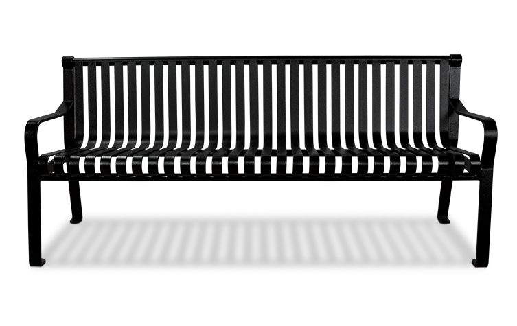Main Image Bench With Straight Back