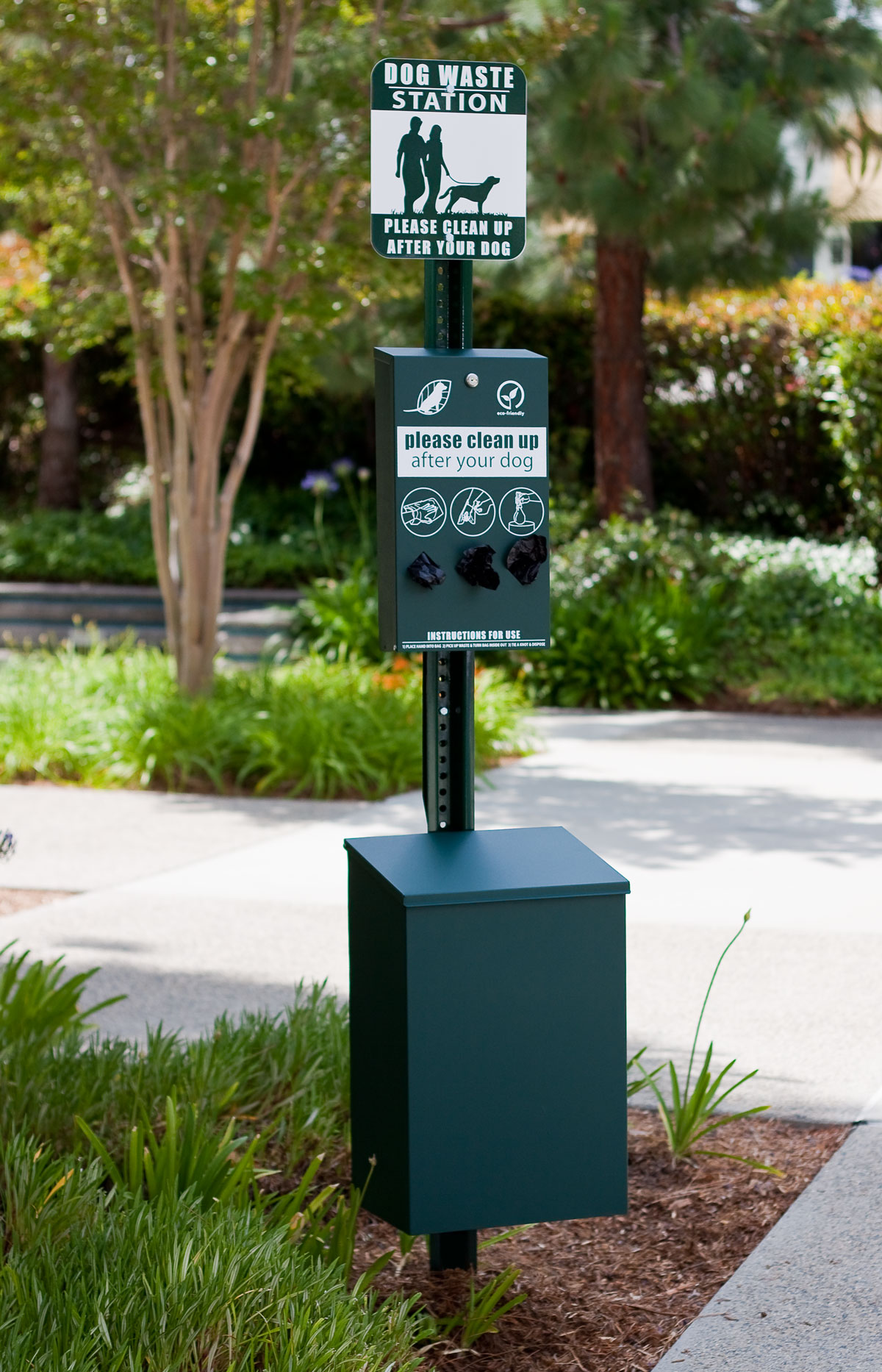 Dog Waste Stations | Dog Park Equipment | Pet Waste Disposal Stations