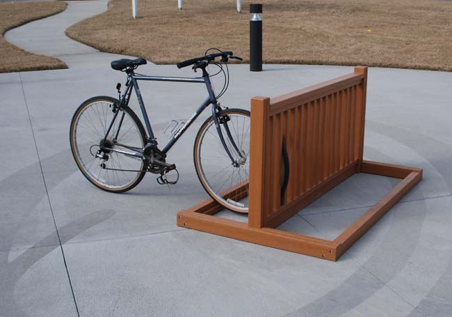 Recycled Plastic Bike Racks