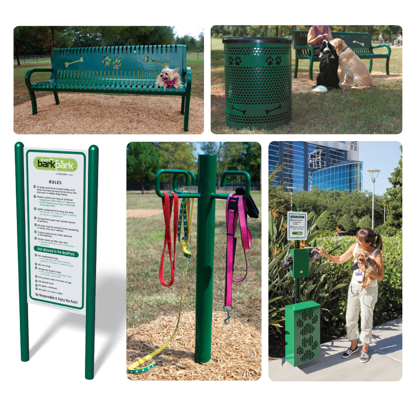 Dog Park Deluxe Site Amenities Kit
