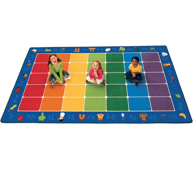 Alphabet Rugs For Classrooms Part - 20: Fun with Phonics Seating Rug | ABC Rugs | Educational Rugs