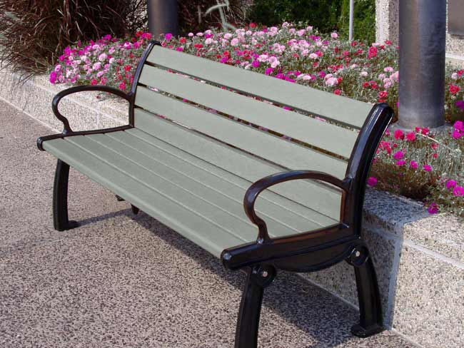 Eco-Friendly Recycled Benches