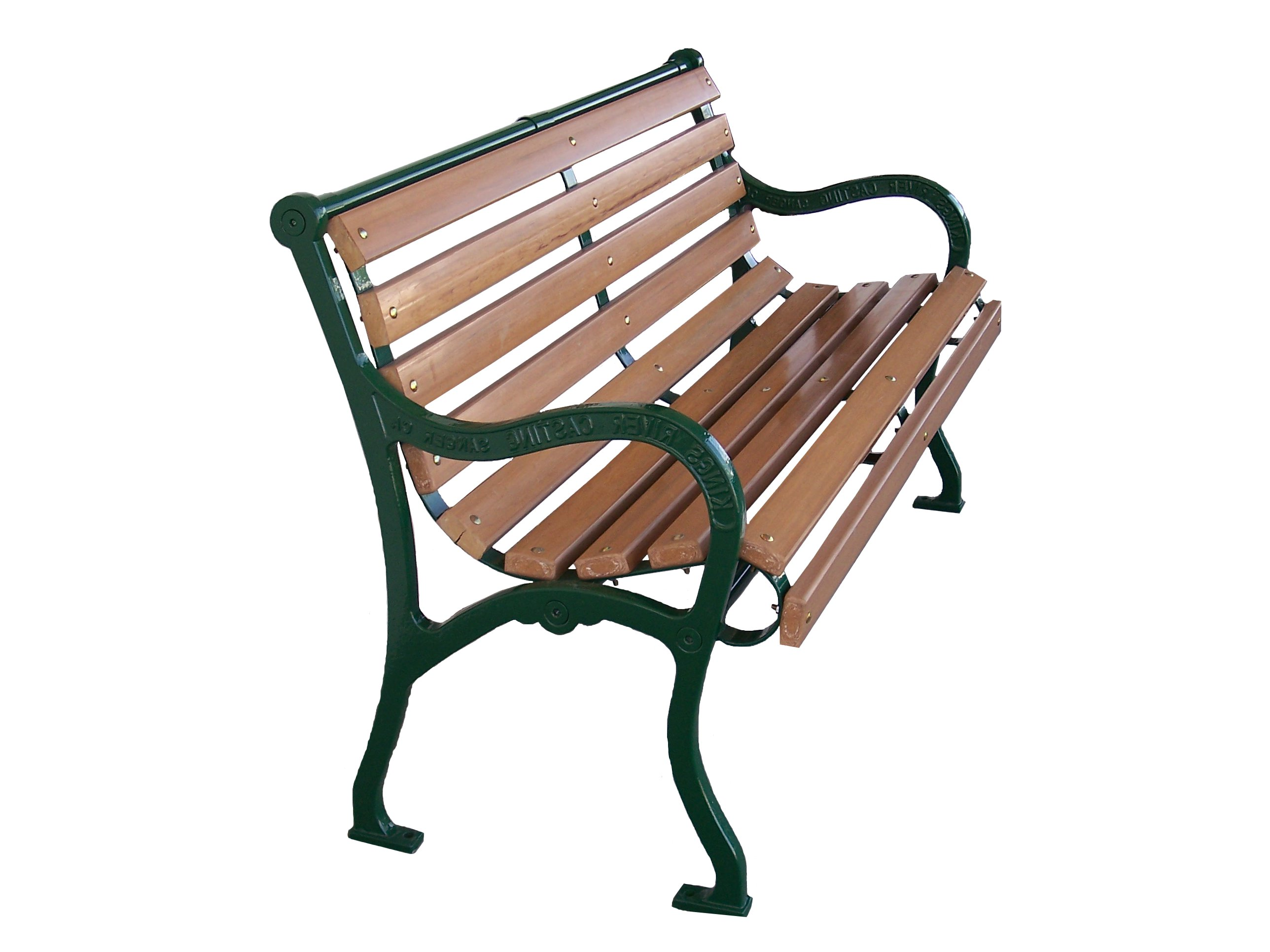 Marvelous photograph of Classic White Oak Park Bench with #884444 color and 2576x1932 pixels