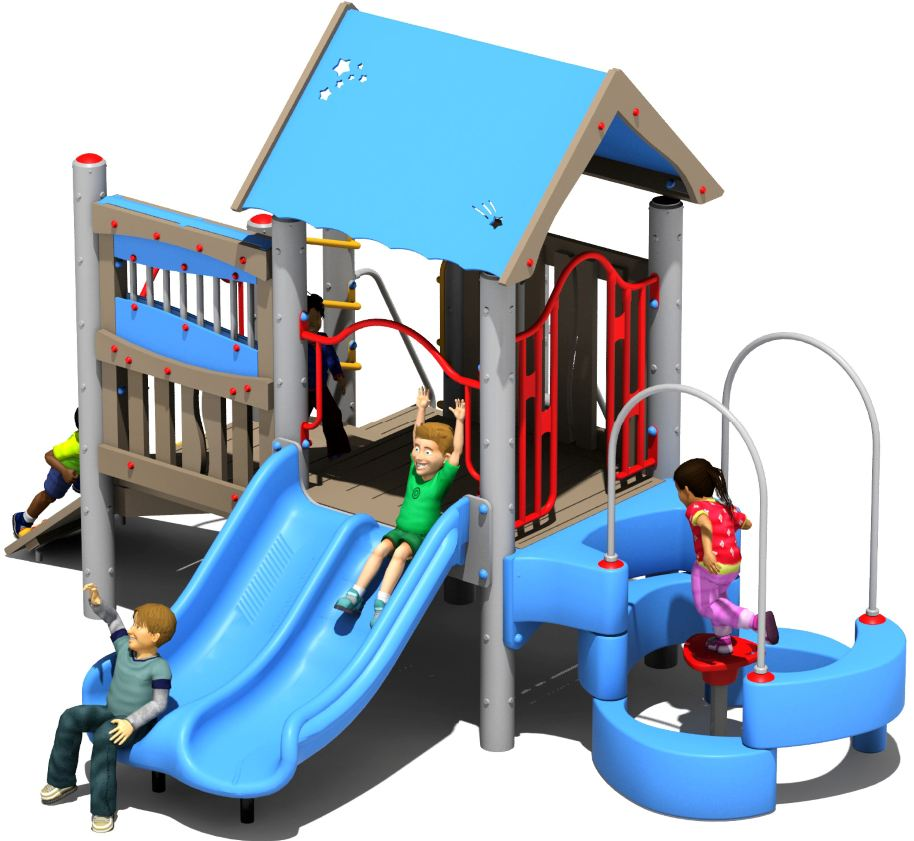 Rocky Top Preschool Play Structure