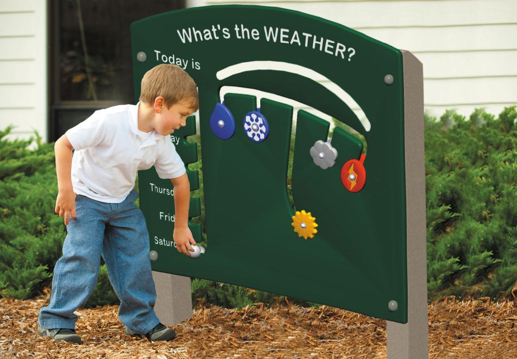 Outdoor Circle Time Weather Panel