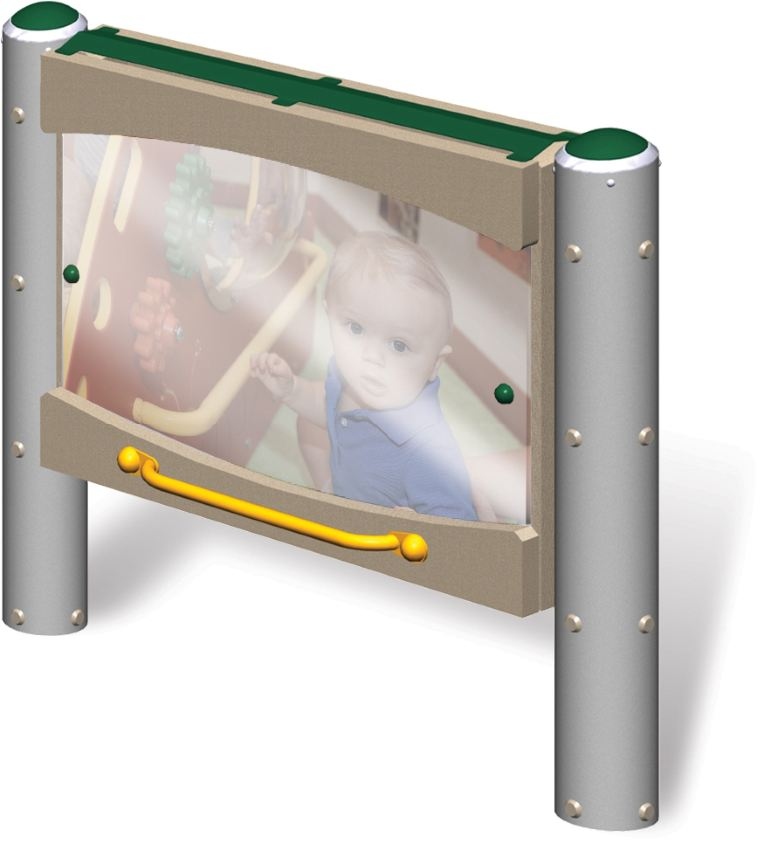 Toddler Pull-Up Mirror