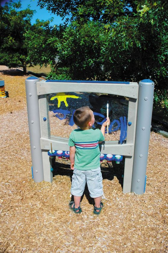 Paint 'n Play Outdoor Art Easel