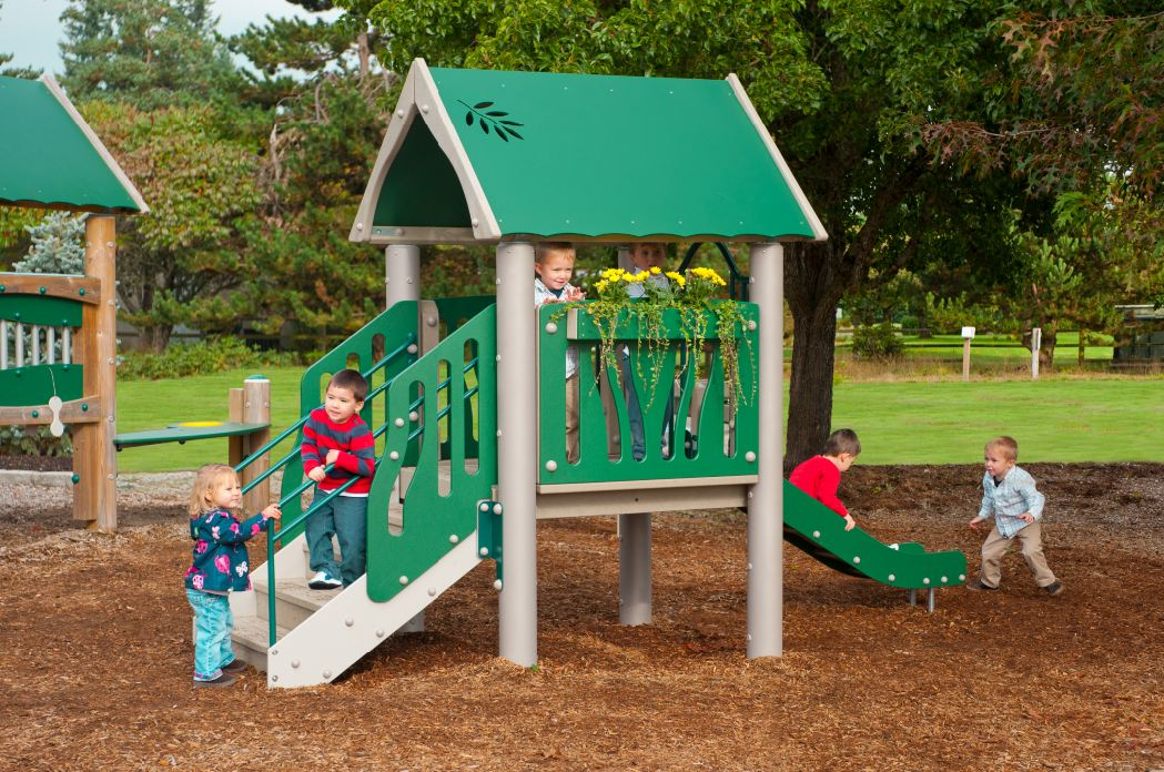 Tot Town Playground Structure