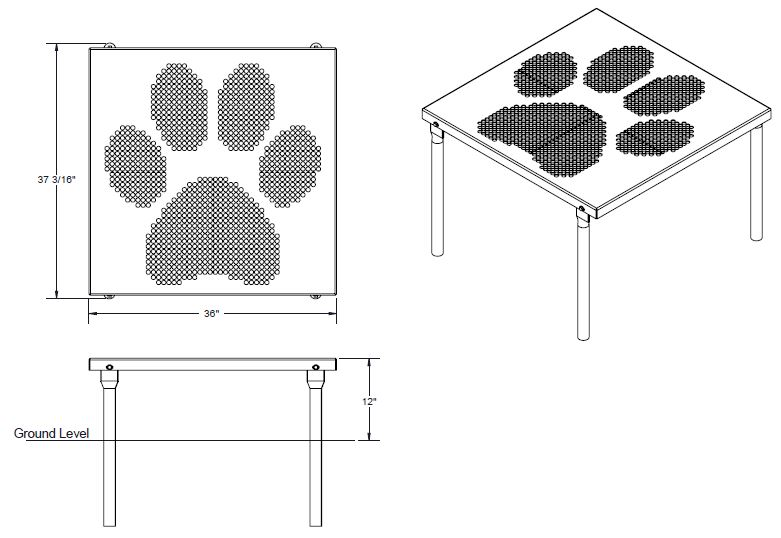 Paws Table | Dog Park Supplies