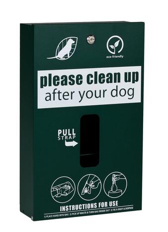 Dog Sanitation Pet Waste Disposal Dispenser - Single Pull Bags