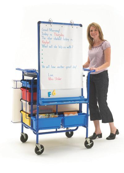 Premium Teach N Go Cart Teacher Easels