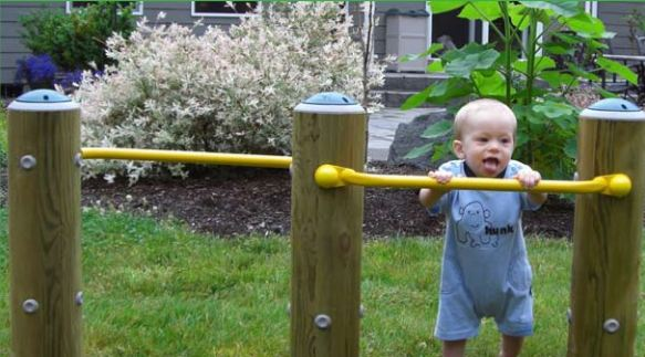 Infant Pull-up Bars Playground Equipment for Daycare