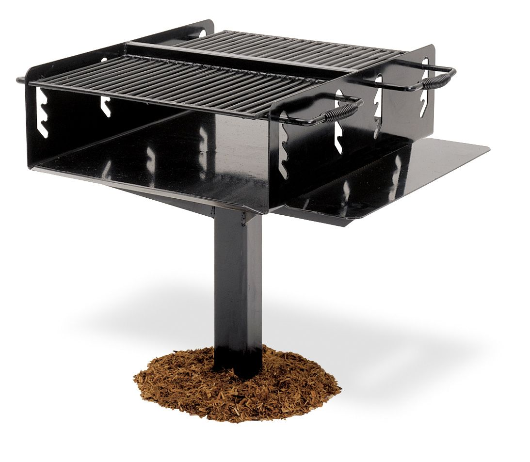 1,008 Sq. In. High-Temp Bi-Level Park Grill