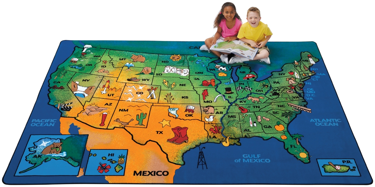 That Others Image Has Been Removed At The Request Of Its Copyright Owner Usa Map Classroom Rug