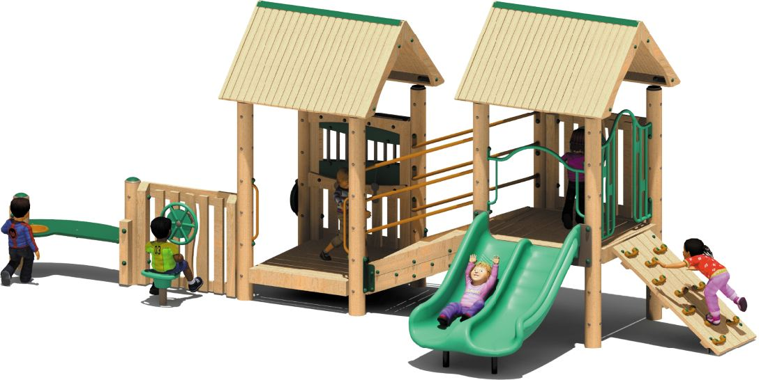 Discovery Preschool Play Structure
