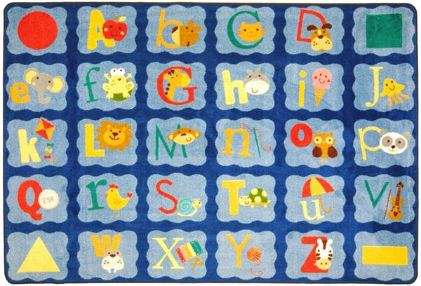 Alphabet Blues Rug | ABC Rugs | ABC Classroom Rugs